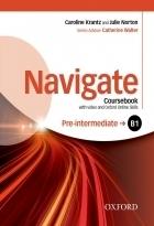 خرید کتاب زبان نویگیت پری اینترمدیت Navigate Pre-Intermediate (B1) Coursebook + W.B + CD