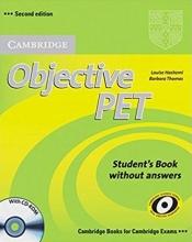 خرید کتاب زبان Objective PET (2nd) S.B+W.B+For school+2CDs