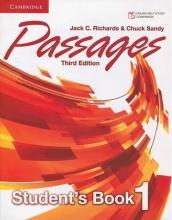 خرید کتاب پسیجز یک ویرایش سوم Passages Level 1 (S.B+W.B+CD) 3rd edition