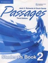 خرید کتاب پسیجز دو ویرایش سوم Passages Level 2 (S.B+W.B+CD) 3rd edition