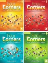 خرید پکیج 4 جلدی کتاب آموزش زبان فورکرنرز Four Corners