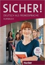 خرید کتاب آلمانی زیشر sicher! B2 deutsch als fremdsprache niveau lektion 1-12 kursbuch + arbeitsbuch تحریر
