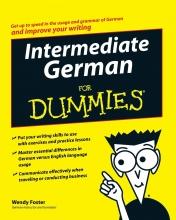 کتاب آموزش آلمانی Intermediate German For Dummies