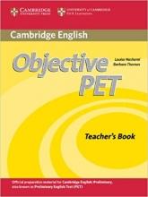 خرید کتاب معلم آبجکتیو پت Objective PET Teachers Book