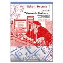 کتاب آلمانی Wissenschaftsdeutsch UNI SICHER 1 C1 C2