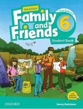 خرید کتاب امریکن فمیلی اند فرندز شش ویرایش دوم American Family and Friends 6 (2nd)+CD