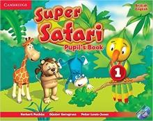 خرید کتاب سوپر سافاری Super Safari 1 (بریتیش کتاب کار و کتاب دانش آموز و سی دی)