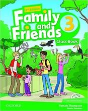 خرید کتاب فمیلی اند فرندز سه ویرایش دوم (Family and Friends 3 (2nd (بریتیش)