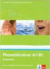 کتاب آلمانی Aussichten Phonetiktrainer A1 - B1