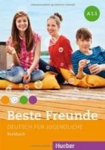 کتاب آلمانی beste freunde A1.1 deutsch fur gugedliche kursbuch + arbeitsbuch+ cd