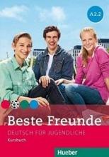 کتاب آلمانی beste freunde A2.2 deutsch fur gugedliche kursbuch + arbeitsbuch+ cd