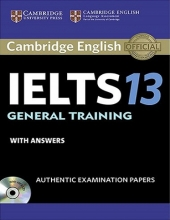 خرید کتاب  کمبریج انگلیش آیلتس 13 جنرال ترینینگ Cambridge English IELTS 13 General Training