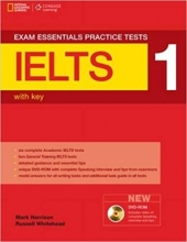 خرید کتاب اگزم اسنشیال آیلتس پرکتیس تست Exam Essentials: IELTS Practice Test 1+DVD