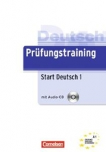 کتاب آلمانی Prufungstraining Daf Start Deutsch A1+ CD