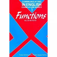 خرید کتاب کامیونیکیتینگ این انگلیش Communicating in English: examples and models: functions