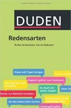 کتاب آلمانی دودن Duden Redensarten Herkunft und Bedeutung