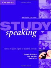 خرید کتاب استادی اسپیکینگ Study Speaking 2nd Edition + CD