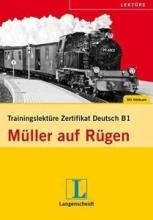کتاب آلمانی Felix Und Theo: Muller Auf Rugen - Trainingslekture Zertifikat Deutsch - Buch + CD-Rom