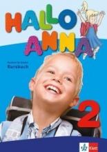 کتاب آلمانی Hallo Anna 2 Lehrbuch + Arbeitsbuch + CD