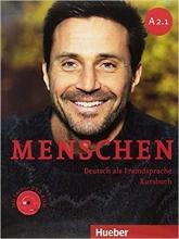 خرید کتاب آلمانی منشن Menschen A2.1 kursbuch und Arbeitsbuch mit CD