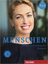کتاب آلمانی منشن Menschen A2.2 kursbuch und Arbeitsbuch mit CD