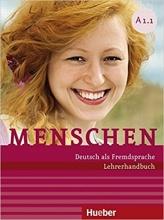کتاب آلمانی معلم منشن (Menschen Lehrerhandbuch A1 (A1.1 & A1.2