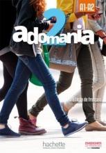 کتاب فرانسوی Adomania 2 + Cahier + DVD