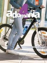 کتاب فرانسوی Adomania 4 + Cahier + DVD