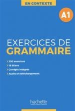 کتاب فرانسوی  En Contexte - Exercices de grammaire A1 + CD + corrigés