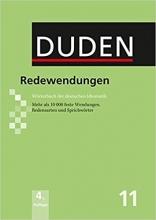 کتاب فرهنگ لغت اصطلاحات دودن Der Duden in 12 Banden: 11 - Redewendungen Worterbuch der deutschen Idiomatik