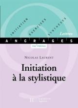 کتاب فرانسوی INITIATION À LA STYLISTIQUE