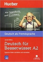 خرید کتاب آلمانی Deutsch uben: Deutsch fur Besserwisser A2 - Typische Fehler verstehen