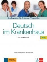 خرید کتاب پزشکی آلمانی Deutsch Im Krankenhaus Neu: Lehr- Und Arbeitsbuch