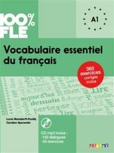 کتاب فرانسه Vocabulaire essentiel du français niv A1 - Livre + CD
