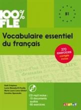 کتاب فرانسه Vocabulaire essentiel du français niv. B1 + CD 100% FLE