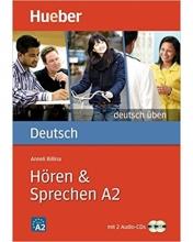 کتاب آلمانی Deutsch Uben : Horen & Sprechen A2 + CD