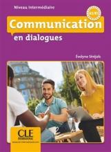 کتاب فرانسه Communication en dialogues intermédiaire - Livre + CD