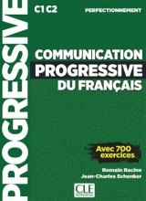 کتاب فرانسه Communication progressive du français - Niveau perfectionnement + CD