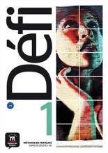 کتاب فرانسه Defi 1 Livre de l'élève + Cahier d'exercices + CD