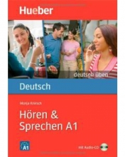 کتاب آلمانی Deutsch Uben : Horen & Sprechen A1 + CD