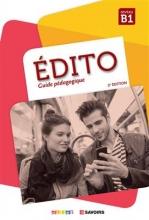 کتاب فرانسه  Edito niv B1 Guide pédagogique