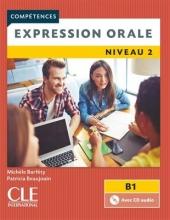 کتاب فرانسه Expression orale 2 - Niveau B1 Livre + CD - 2ème édition
