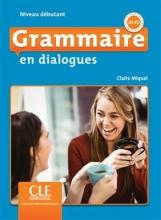 کتاب فرانسه Grammaire en dialogues debutant + CD 2eme edition