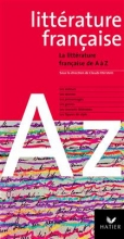 کتاب فرانسه La littérature française de A à Z
