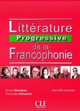 کتاب فرانسه Litterature progressive de la francophonie - intermediaire