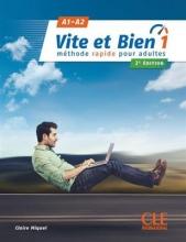 کتاب فرانسه Vite et bien 1  A1 A2 - 2ème + CD