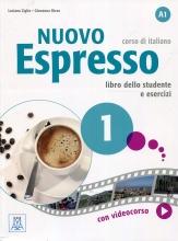 کتاب ایتالیایی نوو اسپرسو یک Nuovo Espresso 1 Libro Studente A1 +DVD