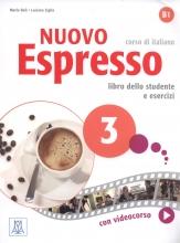 کتاب ایتالیایی نوو اسپرسو سه Nuovo Espresso 3 Libro Studente B1 +DVD