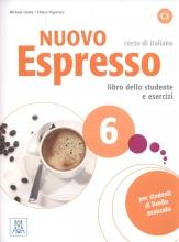 کتاب ایتالیایی نوو اسپرسو شش Nuovo Espresso 6 Libro Studente C2 +DVD