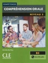 کتاب فرانسه Comprehension orale 3 - Niveau B2 + CD 2eme edition